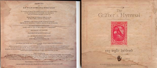 RW Hubbard - Grifter's Hymnal