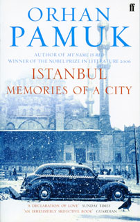 Istanbul book by Orhan Pamuk