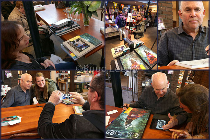 Steve McCurry booksigning Haarlem