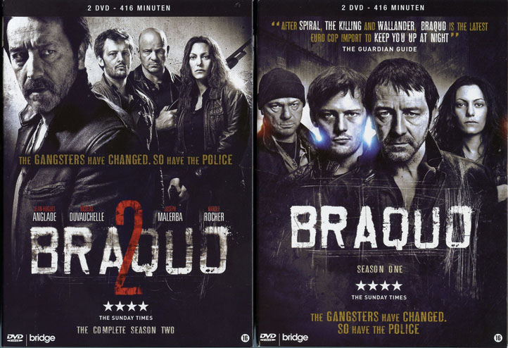 Braquo - French crime tv series