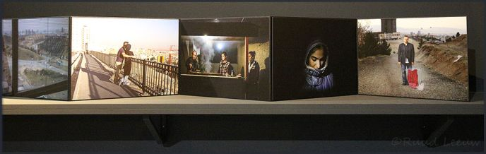 Newsha Tavakolian's exhibition 'I know why the rebel sings' at the Prince Claus Fund Gallery.