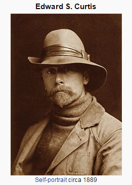 Edward Sheridd Curtiss, photographer