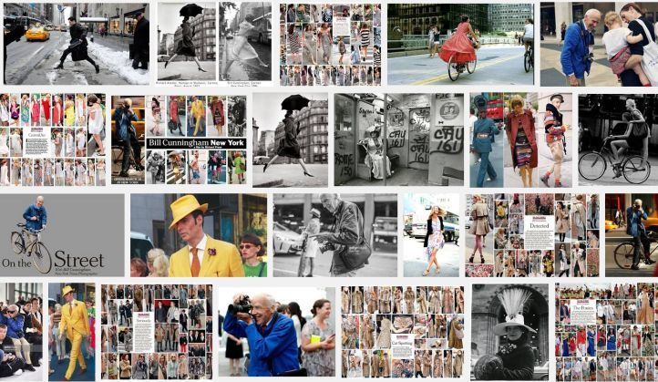 BILL CUNNINGHAM, PHOTOGRAPHER - R.I.P.