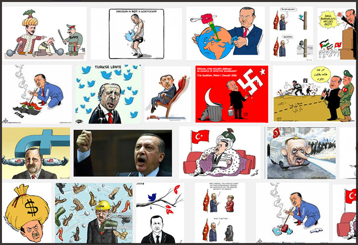 Erdogan cartoons