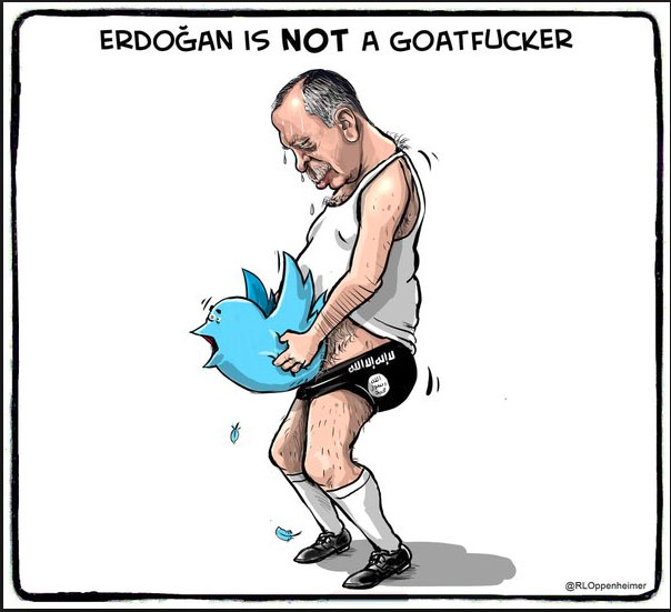 Erdogan, not a goatfucker