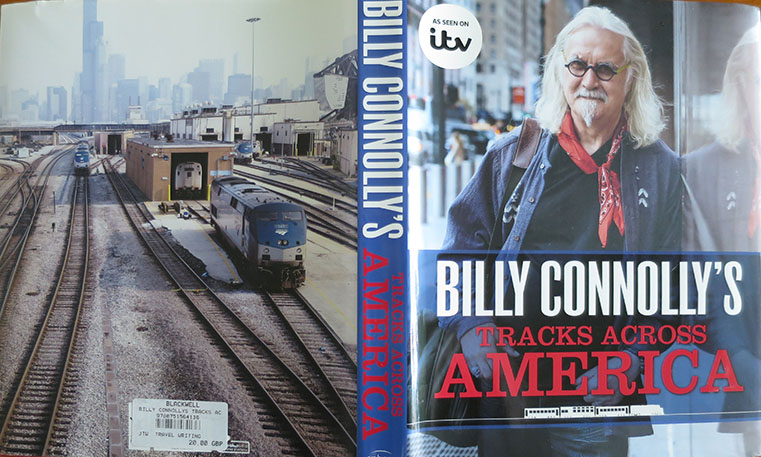 Tracks Across America by Billy Connolly