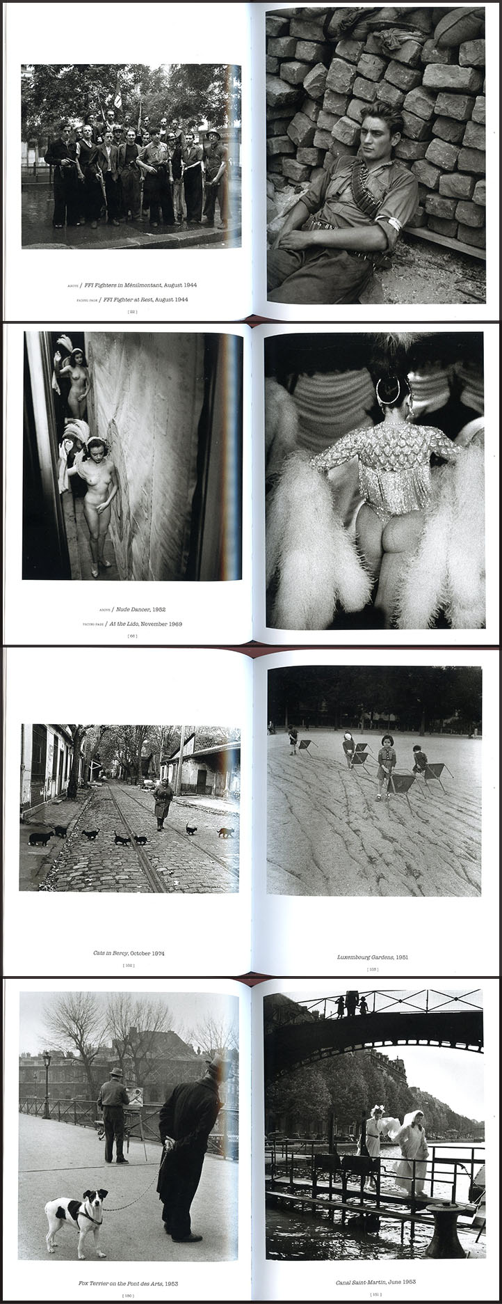 Paris by Robert Doisneau, photobook