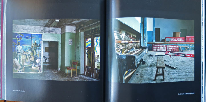Soviet Ghosts by Rebecca Litchfield, urbex photography photobook