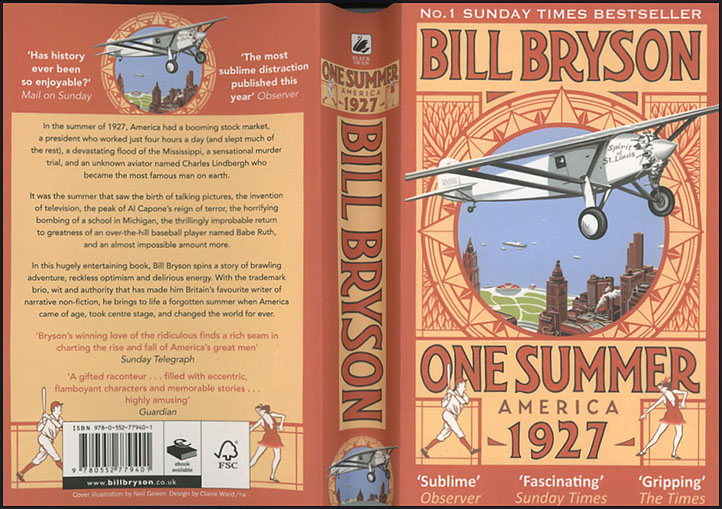 One Summer in America 1927 by Bill Bryson