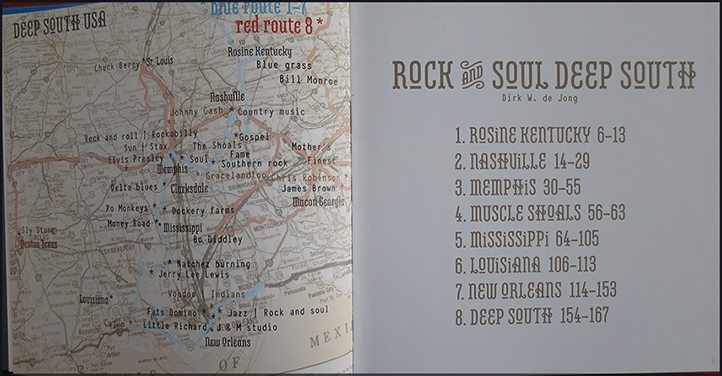 Rock and Soul Deep South - Dirk W. de Jong