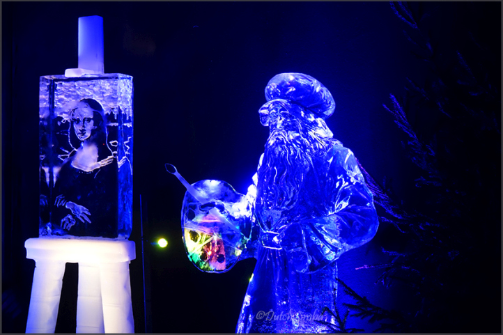 Journey Through Time - icesculptures in Zwolle