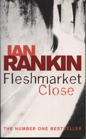 Ian Rankin - Fleshmarket Close