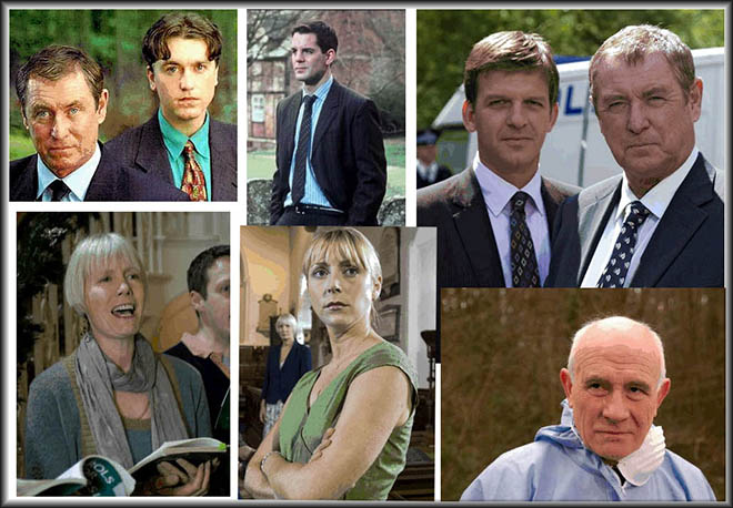 Principal Cast of Midsomer Murders