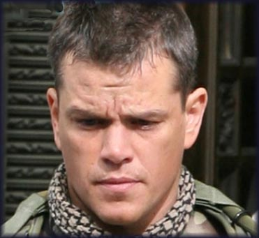 Matt Damon as Roy Miller in The Green Zone